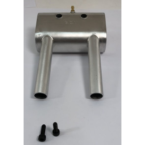 Bisson DLE 55 Rear Exhaust Inverted
