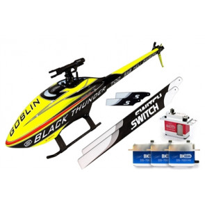 SAB Goblin Thunder Sport 700 Flybarless Electric Helicopter Kit - Combo