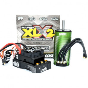 CASTLE CREATIONS Mamba XLX 2 1/5 & 1100Kv Motor Combo with 20A BEC