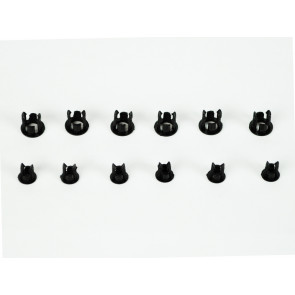 Common Sense RC Mounting sockets for 3mm and 5mm LED Lights - 6 each