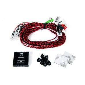 Common Sense RC Deluxe Programmable LED Lighting Kit for Airplane and Helicopters