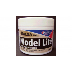 Deluxe Materials Model Lite Balsa Filler, Balsa Brown: 240cc