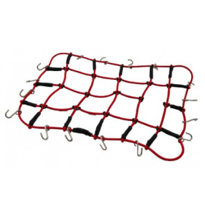 HOBBY DETAILS Luggage Net for 1/10 RC Crawler - Red