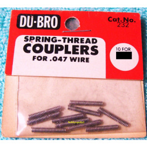 Dubro Spring-Threaded Couplers