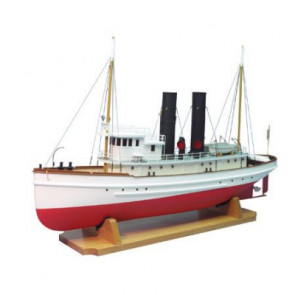 DUMAS 1/48 1900 The Lackawanna Tug Boat Kit, 33""