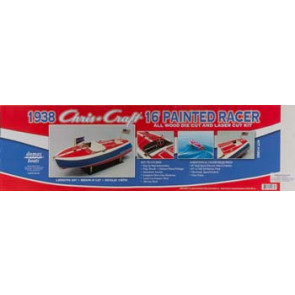 Dumas 1/8 Chris Craft 16' Painted Racer Kit