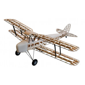 Dancing Wings Hobby S09 TigerMoth Laser Cut Balsa wood Airplane 1400mm Wingspan Balsa KIT EP&GP