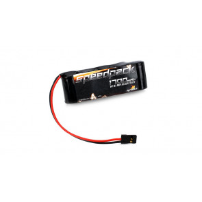 DYNAMITE 6V 1700mAh NiMH Receiver Pack, 5 Cell Flat Battery
