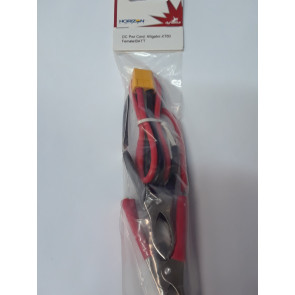 Dynamite DC Power Cord: Alligator - XT60 Battery (2040, 2050)