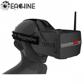 "Eachine Goggles One 5"" 5.8gHz 40ch Raceband HD 1080p HDMI FPV Video Glasses"