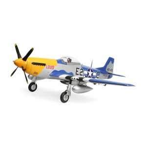 E-Flite P51D Mustang 1.5m BNF Combo (Includes Battery)