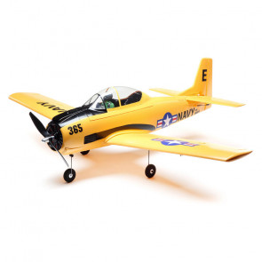 E-Flite T-28 Trojan 1.1m BNF Basic with AS3X and SAFE Select
