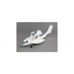 E-flite Bare Fuselage with Rudder pushrods: ICON A5