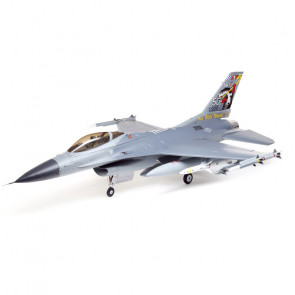 E-Flite F-16 Falcon 80mm EDF Jet Smart BNF Basic with SAFE Select, 1000mm