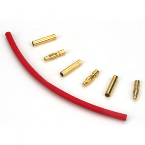 E-Flite Connector: Gold Bullet Set, 4mm (3)