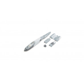 E-flite Fuselage with accessories: UMX A-10 BL