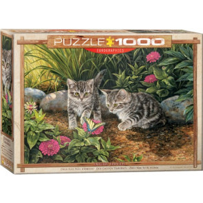 EUROGRAPHICS Double Trouble Kittens Puzzle (1000pc)
