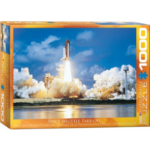 EUROGRAPHICS PUZZLES Space Shuttle Take-Off Puzzle (1000pc)