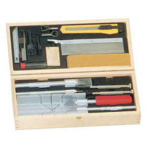 Excel Hobby Blade Deluxe Knife & Tool Set w/Wood Chest