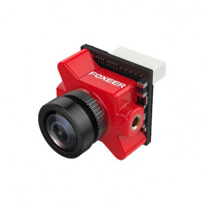 FOXEER PREDATOR MICRO V4 FPV CAMERA 1.8MM LENS PLUG VERSION RED