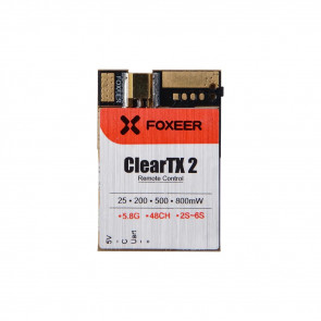 Foxeer ClearTX 2 5.8G 48CH 25/200/500/800mW Remote Control VTx