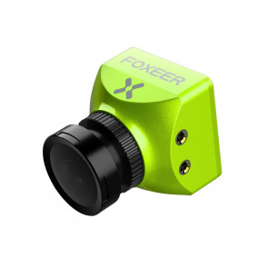 Foxeer Predator V3 Racing All Weather Camera 16:9/4:3 PAL/NTSC switchable Super WDR OSD 4ms Latency Remote Control - Fluorescent Green