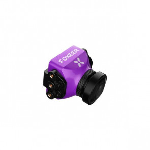 Foxeer Predator V3 Racing All Weather Camera 16:9/4:3 PAL/NTSC switchable Super WDR OSD 4ms Latency Remote Control - Purple