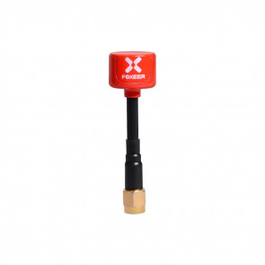 Foxeer Lollipop 5.8G LHCP Mini FPV Antenna SMA - RED