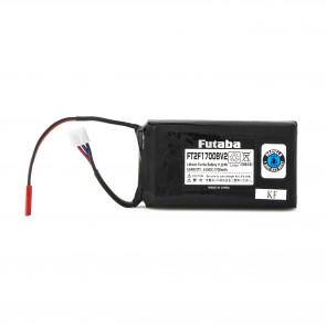Futaba 6.6V 1700mAh LiFe Transmitter Battery