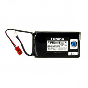 FUTABA 2100mAh LiFe Transmitter Battery (2-Cell)