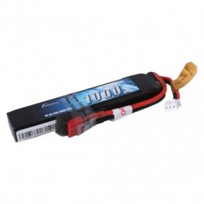 Gens ace 25C 1000mAh 2S1P 7.4V Airsoft Gun Battery with Deans Plug