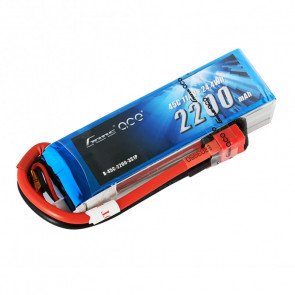 Gens ace 2200mAh 11.1V 45C 3S1P Lipo Battery with Deans plug