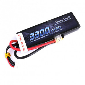 Gens ace 3300mAh 11.1V 50C 3S1P Lipo Battery Pack with XT60 Plug