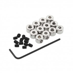 """Great Planes Plated Wheel Collars 3/32"""" (12)"""