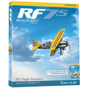 Great Planes RealFlight 7.5 Upgrade For G4 And Above