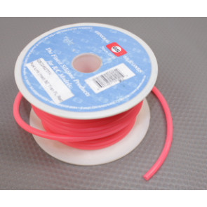 GSC FUEL LINE FLUORESCENT RED MEDIUM 50FT