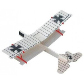 Guillows Biplane Glider Model Kit