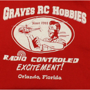 GRAVES RC HOBBIES Ladies Ribbed Tank Top, Red