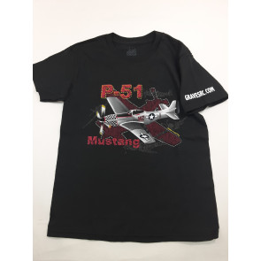 Graves RC Hobbbies Youth P-51 Mustang Shirt