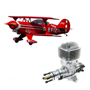 Hangar 9 Pitts S-2B 50-60cc with DLE 61cc Gas Engine