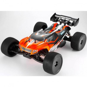 Hobao Racing Hyper SS 1/8 Truggy RTR Orange w/H-3032T Engine, P5 Plug 2.4gHz
