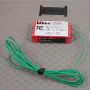 HITEC RECEIVER FEATHER FM 4CH AIRTRONICS / JR