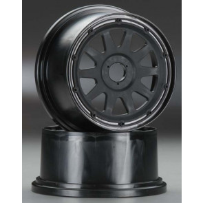 HPI Racing TR-10 WHEEL BLK 120x65 mm/ -10mm offset (2)