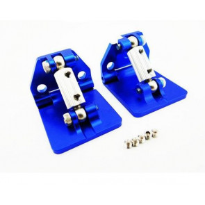 HOT RACING - ALUMINUM ADJUSTABLE TRIM TAB SET FOR TRAXXAS SPARTAN