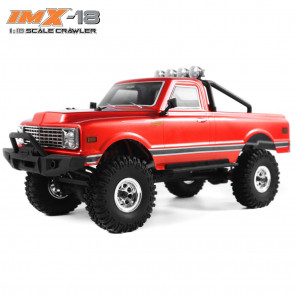 IMEX IMX-18 Jackhammer RTR 4WD 18th Scale Crawler- RED