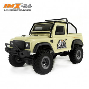 IMEX IMX-24 Canfield RTR 4WD 24th Scale Crawler - TAN