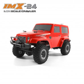 IMEX IMX-24 Tarchee RTR 4WD 24th Scale Crawler - RED