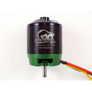 Cobra C-4130/14 Brushless Motor, Kv=450