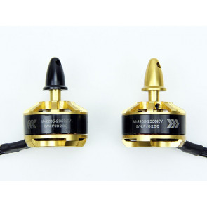 Scorpion M-2205-2350KV Brushless Multi-Rotor Motors (2 pack, 1 CW, 1 CCW)