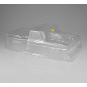 JCONCEPTS 1/10 1993 Ford F-150 Clear Body with Spoiler: Rustler VXL